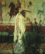 A Greek Woman Sir Lawrence Alma-Tadema Sir Lawrence Alma-Tadema,OM.RA,RWS